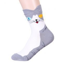 Colorful Eyes Cat Socks 4
