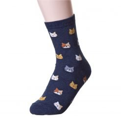 Little Cat Pattern Socks 3