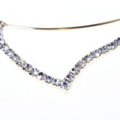 Rhinestone Fox Ear Steel Headband 1