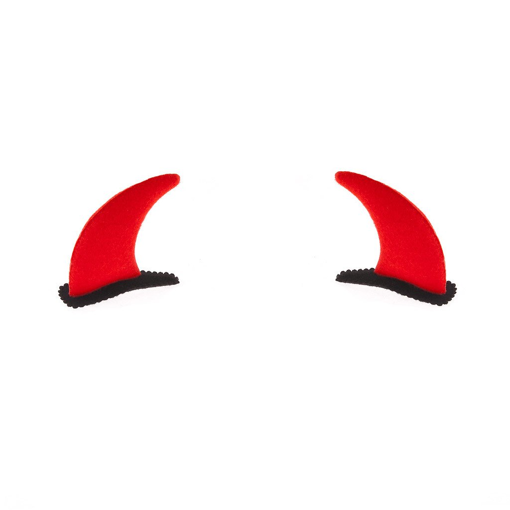 devil hore hairpin red