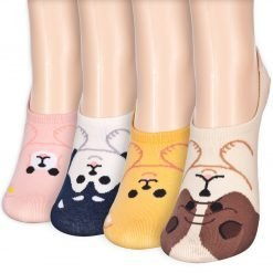 animal puppy low cut socks