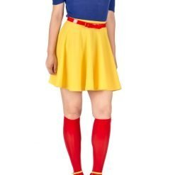 superwoman costume red knee socks 1